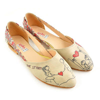 Couple in Love Ballerinas Shoes OMR7002