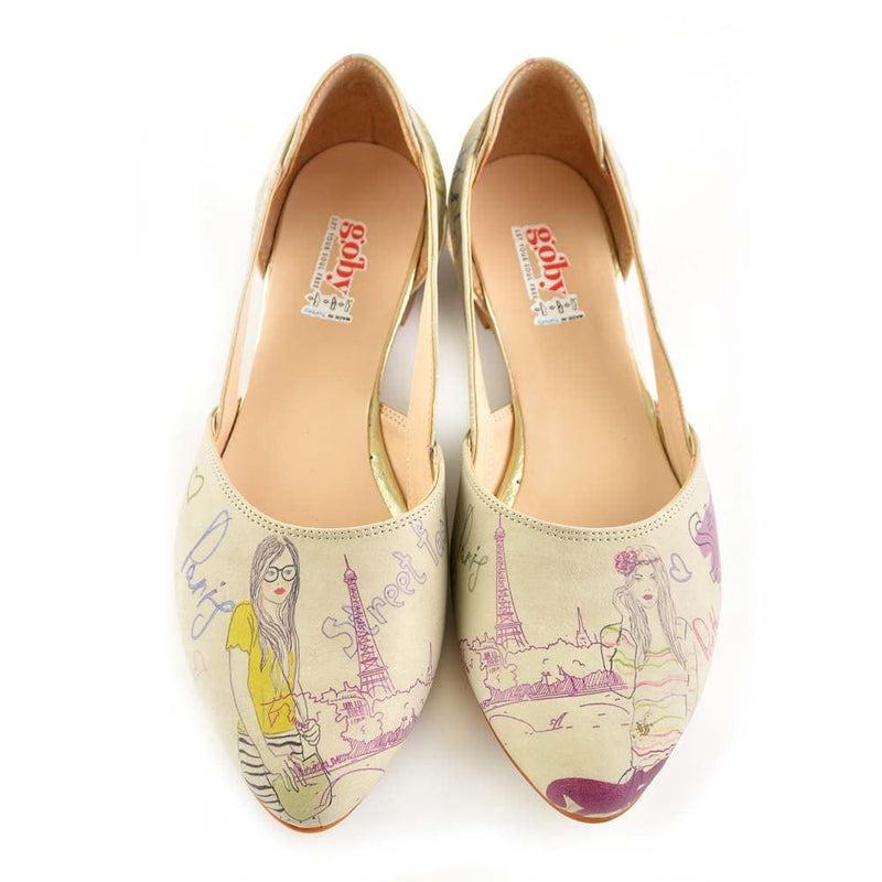 Street Fashion Ballerinas Shoes OMR7003 (506270023712)
