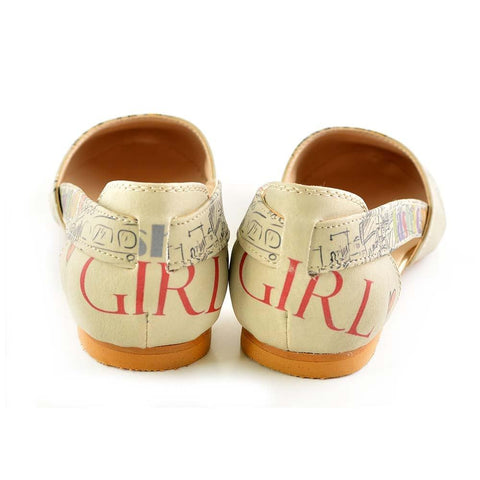 Fashion Girl Ballerinas Shoes OMR7004 - Goby GOBY Ballerinas Shoes