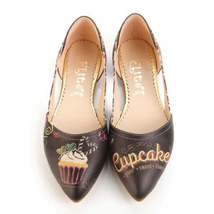Cupcake Ballerinas Shoes OMR7006 - Goby GOBY Ballerinas Shoes