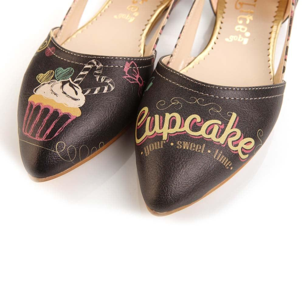 GOBY Cupcake Ballerinas Shoes OMR7006
