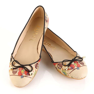 Cute Animals Ballerinas Shoes OMR7101 - Goby GOBY Ballerinas Shoes
