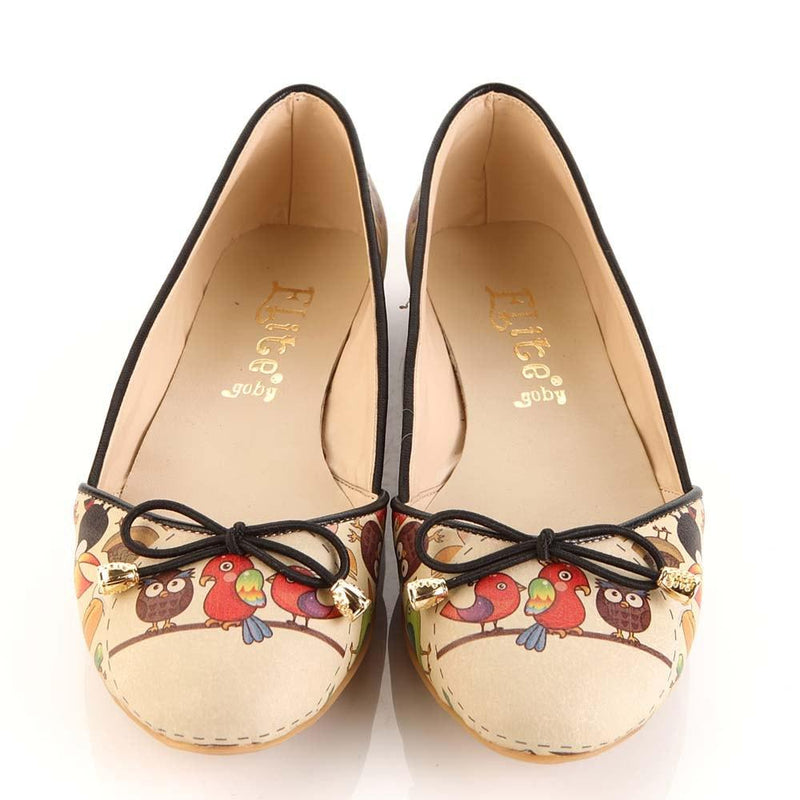 Cute Animals Ballerinas Shoes OMR7101 (506270187552)