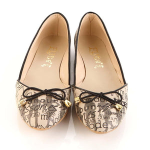 Love and Fashion Ballerinas Shoes OMR7104