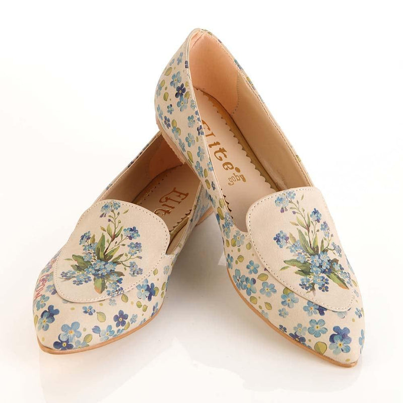 Flowers Ballerinas Shoes OMR7202 (506270515232)