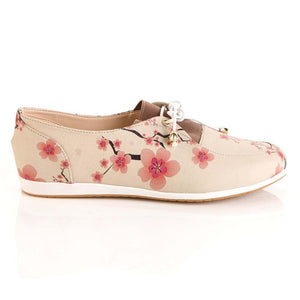 GOBY Cherry Blossom Ballerinas Shoes OMR7302