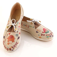 Strong Love Ballerinas Shoes OMR7305