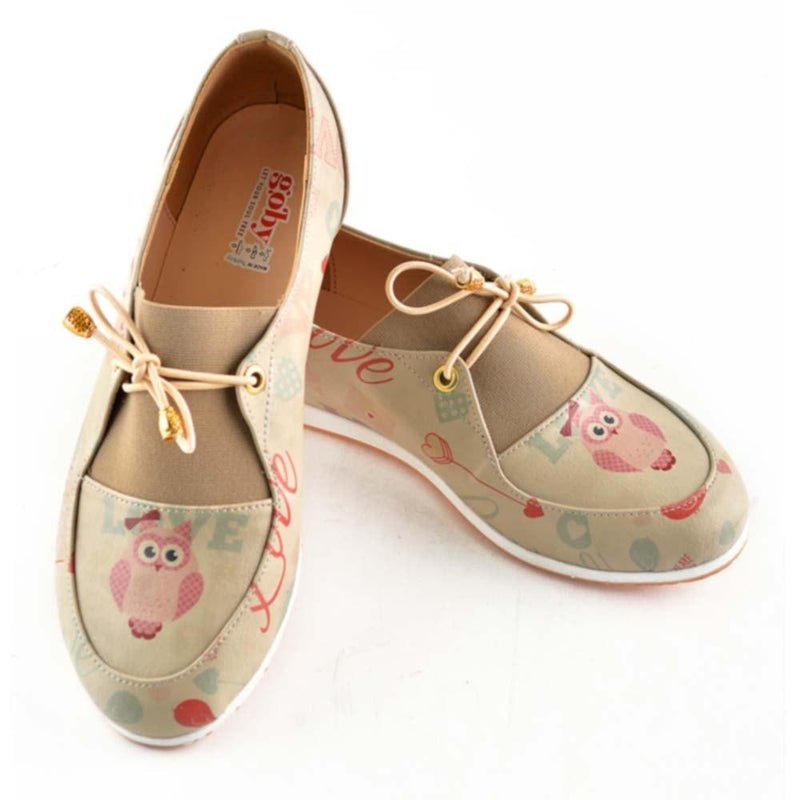 Owl and Love Ballerinas Shoes OMR7309