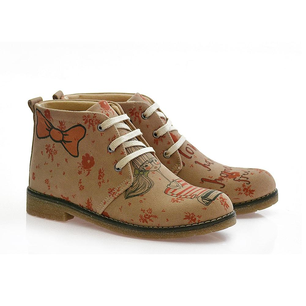 GOBY Study Girl Ankle Boots PH111