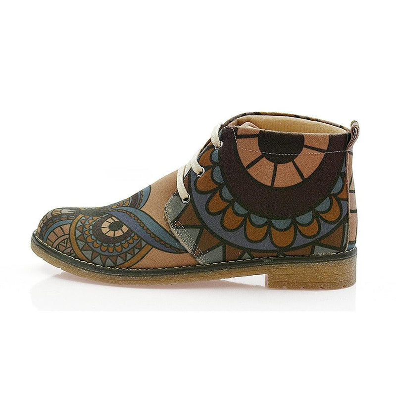 Owl Ankle Boots PH114 (506272350240)