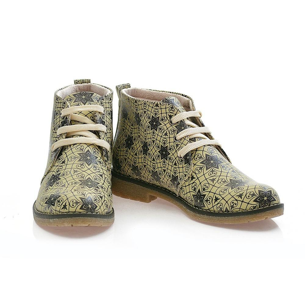 GOBY Pattern Ankle Boots PH208