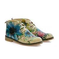 Flowers Ankle Boots PH209 (506272481312)
