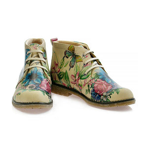 GOBY Flowers Ankle Boots PH209