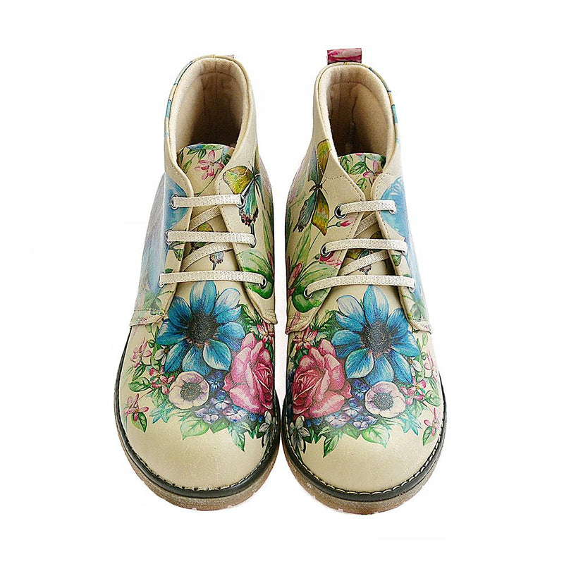 Flowers Ankle Boots PH209