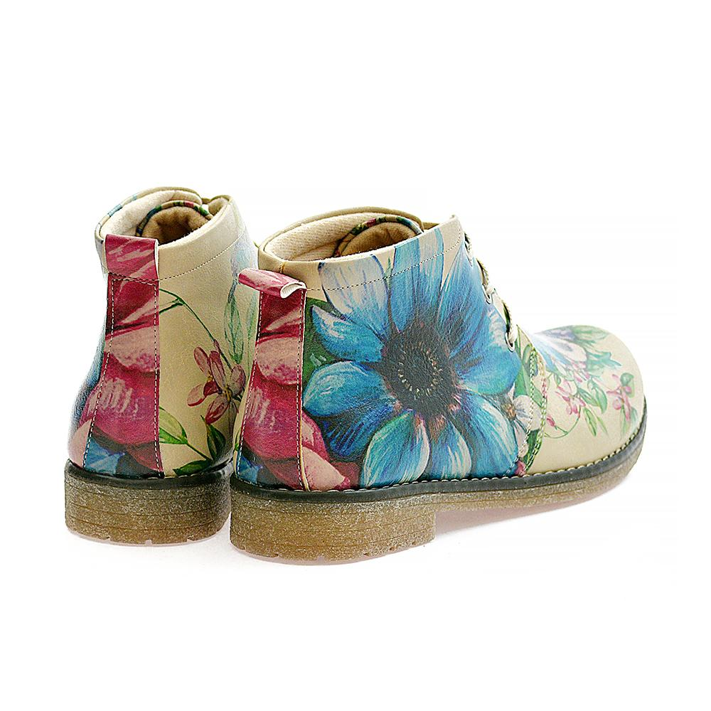 Flowers Ankle Boots PH209 - Goby GOBY Ankle Boots