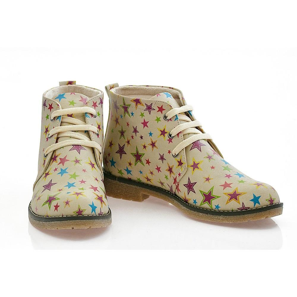 GOBY Stars Ankle Boots PH211