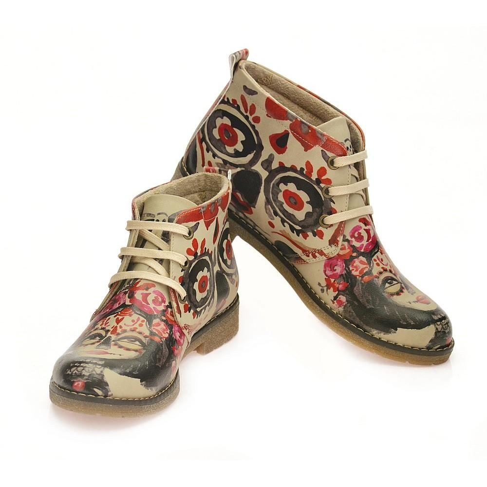GOBY Enchantment of Makeup Ankle Boots PH220