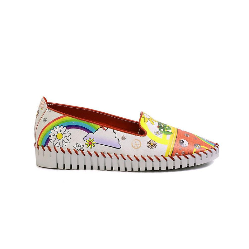 Peace Slip on Sneakers Shoes PUS102 (770217705568)