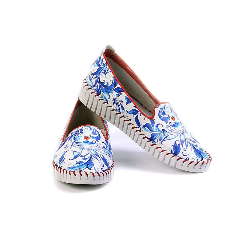 Flowers Slip on Sneakers Shoes PUS105 (770217836640)