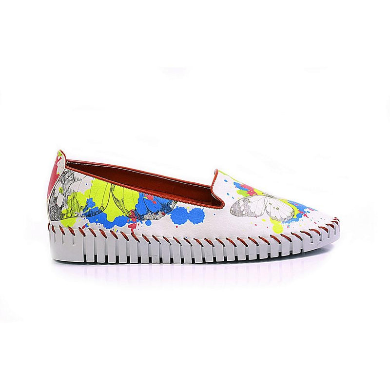 Butterfly Slip on Sneakers Shoes PUS109 (770217967712)