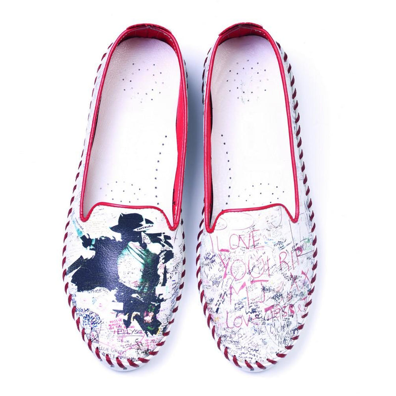 I Love You Rip MJ Slip on Sneakers Shoes PUS113 (770218164320)