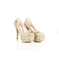Cherry Blossom Heel Shoes PLT2008 (1421400080480)