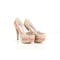Marilyn Monroe Heel Shoes PLT2010 (1421220446304)