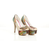 Butterfly Heel Shoes PLT2013 (1421220905056)