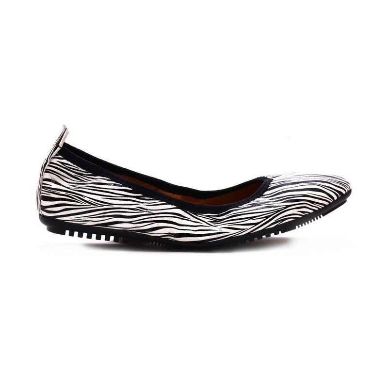 White Black Zebra Ballerinas Shoes and Bag Set RAS104 (1332748124256)