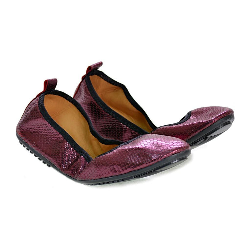 Shiny Violet Ballerinas Shoes and Bag Set RAS108 (1332754546784)