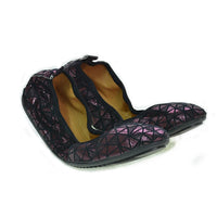 Shiny Violet Prisms Ballerinas Shoes and Bag Set RAS110 (1332754579552)