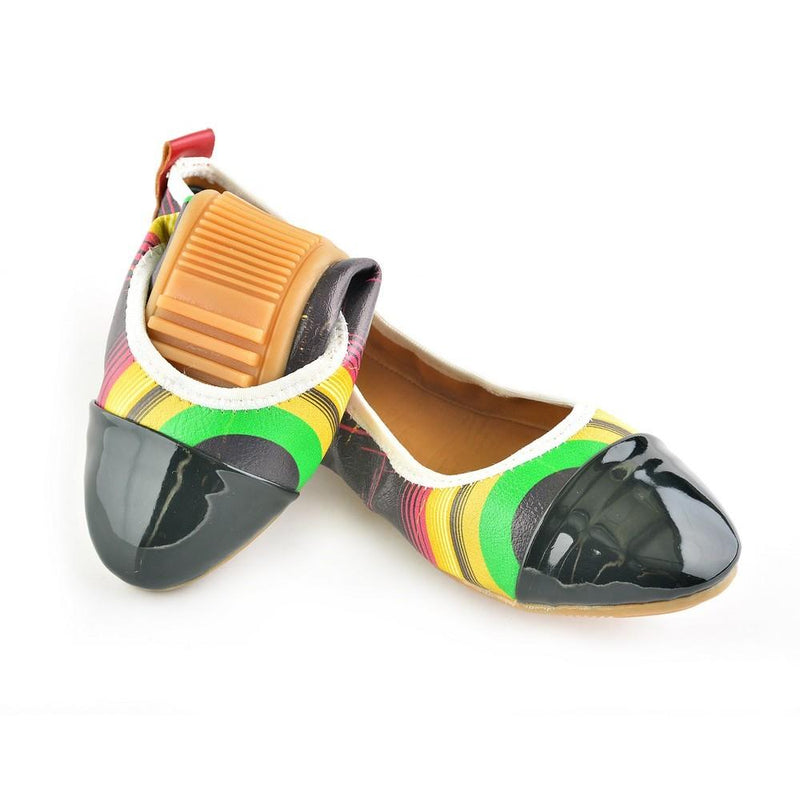 Pattern Ballerinas Shoes RAS1609 (1332749107296)