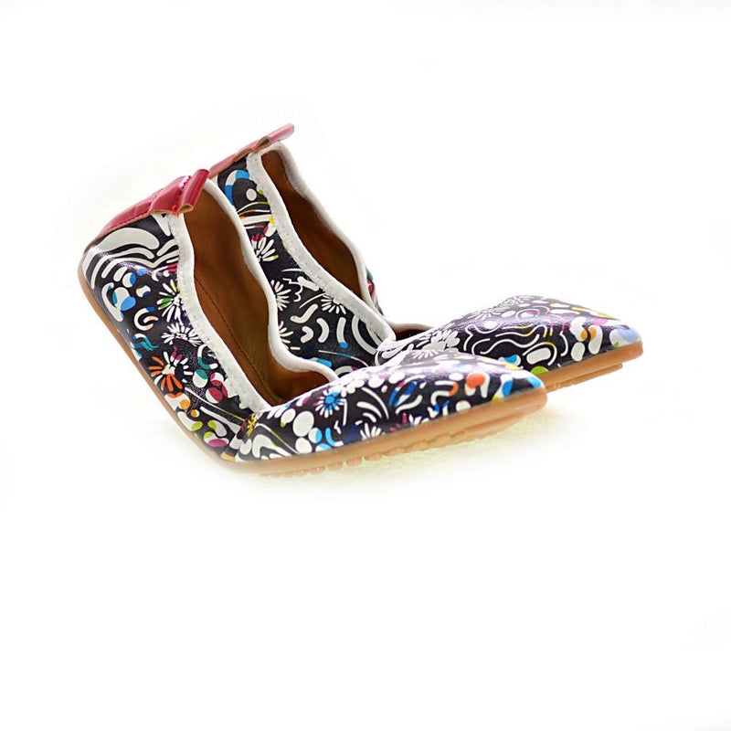 Pattern Ballerinas Shoes RAS2510 (1332749860960)