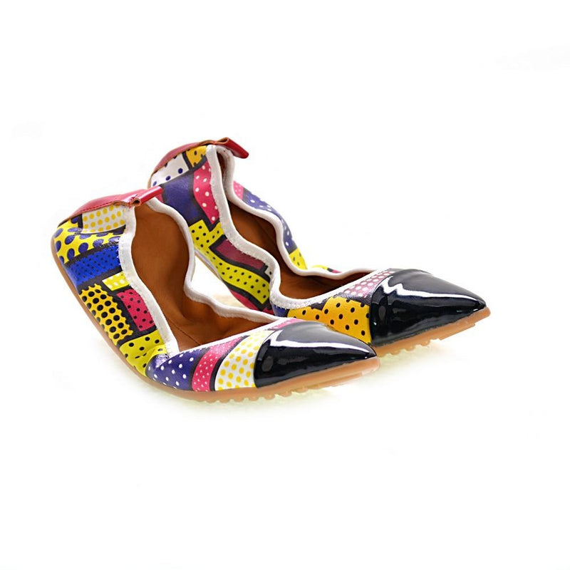 Pattern Ballerinas Shoes RAS2601 (1332750286944)