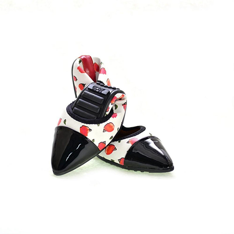 Strawberry Ballerinas Shoes RAS2611 (1332750614624)