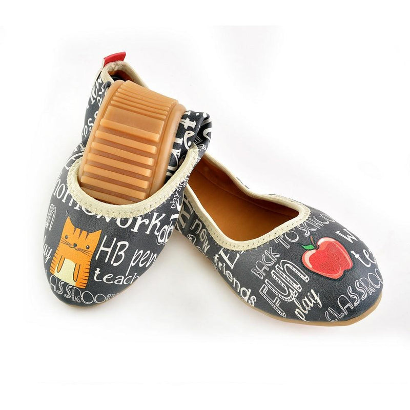 Back to School Ballerinas Shoes RSP302 (1332752121952)