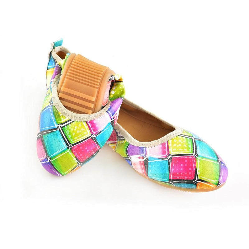 Colored Stones Ballerinas Shoes RSP303 (1332752154720)