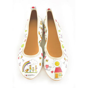 I Love My Family Ballerinas Shoes RSP307