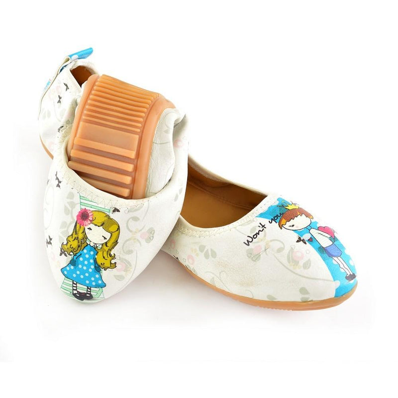 Want You My Princess Ballerinas Shoes RSP312 (1332752416864)