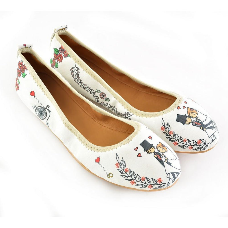 Love Story Ballerinas Shoes RSP326 (1332752679008)