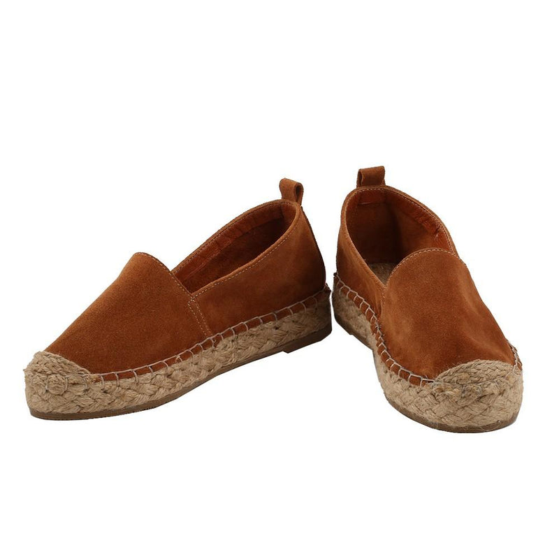 Leather Espadrille Shoes SAN502 (1332763426912)