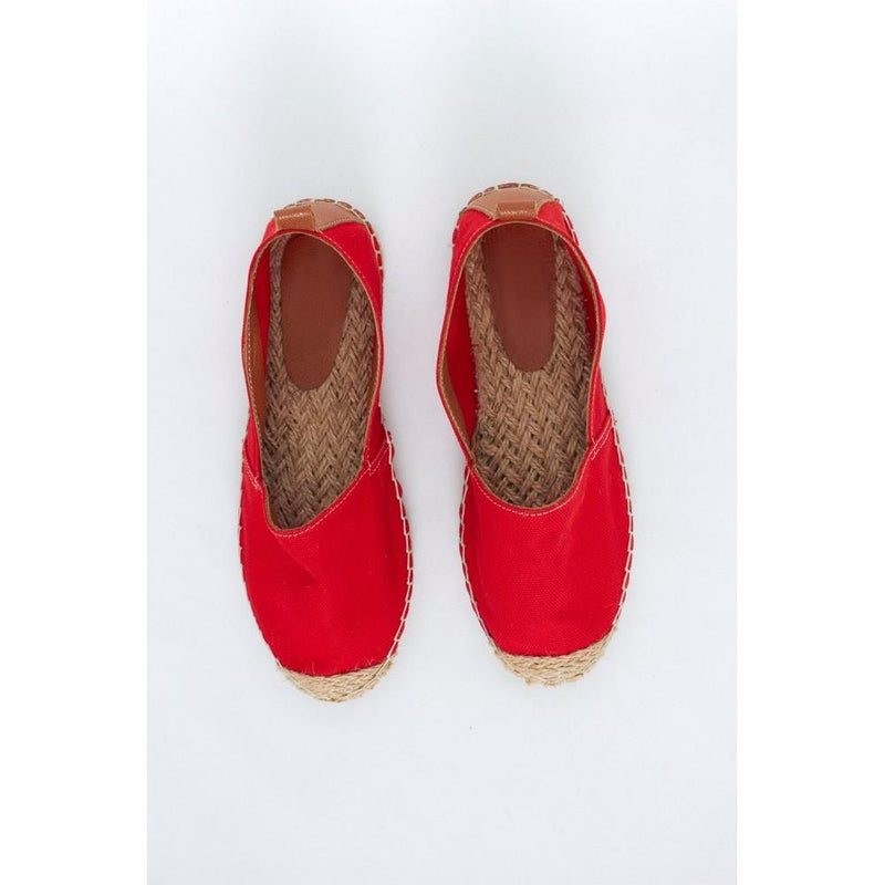 Red Linen Espadrille Shoes SAN816 (1332763852896)