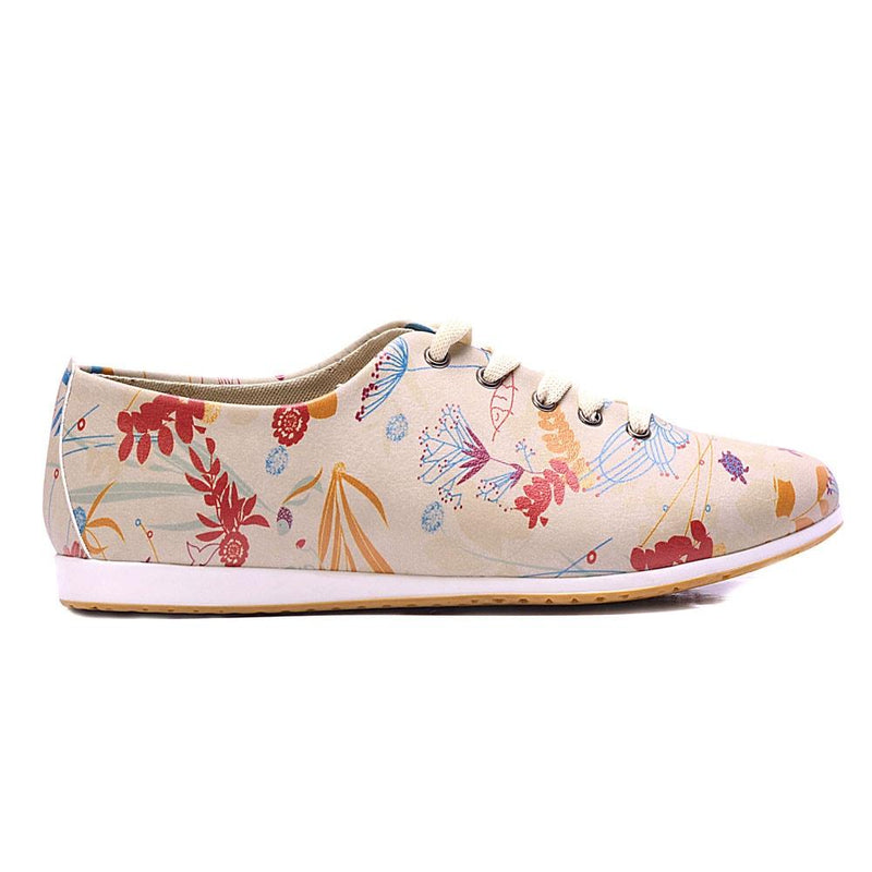 Flowers Ballerinas Shoes SLV191 (506275823648)
