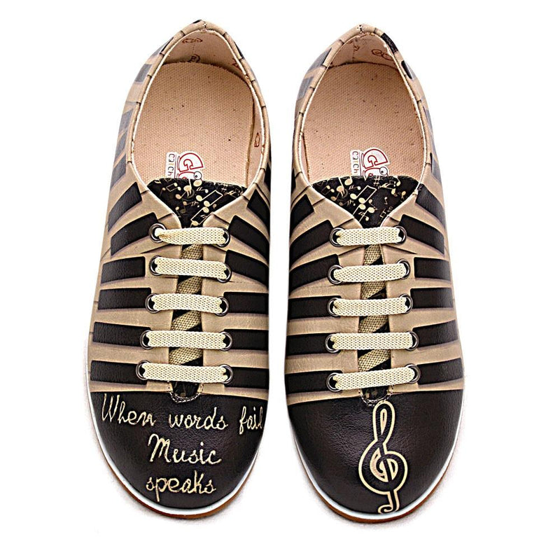 Piano Ballerinas Shoes SLV198 (506276085792)