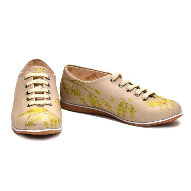 Golden Bird Ballerinas Shoes SLV199 - Goby GOBY Ballerinas Shoes