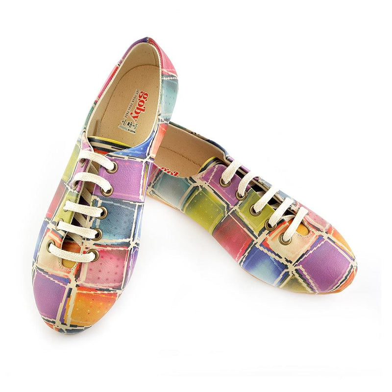 Colored Stones Ballerinas Shoes SLV019 (506273562656)