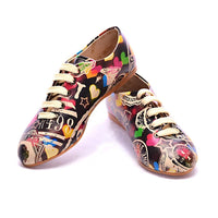 Colored Hearts Ballerinas Shoes SLV022