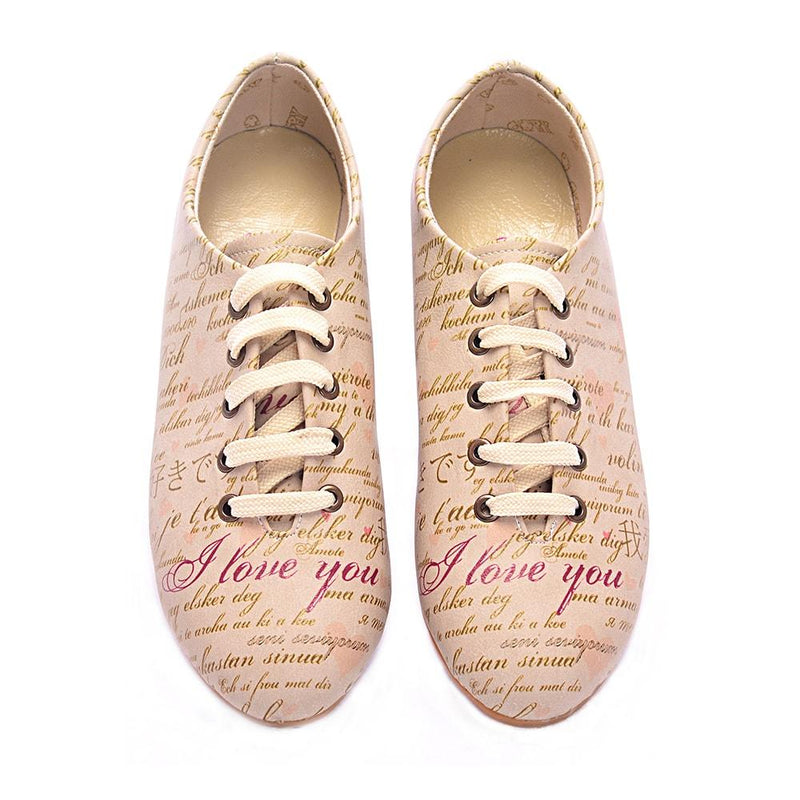 I Love You Ballerinas Shoes SLV002 (506272710688)