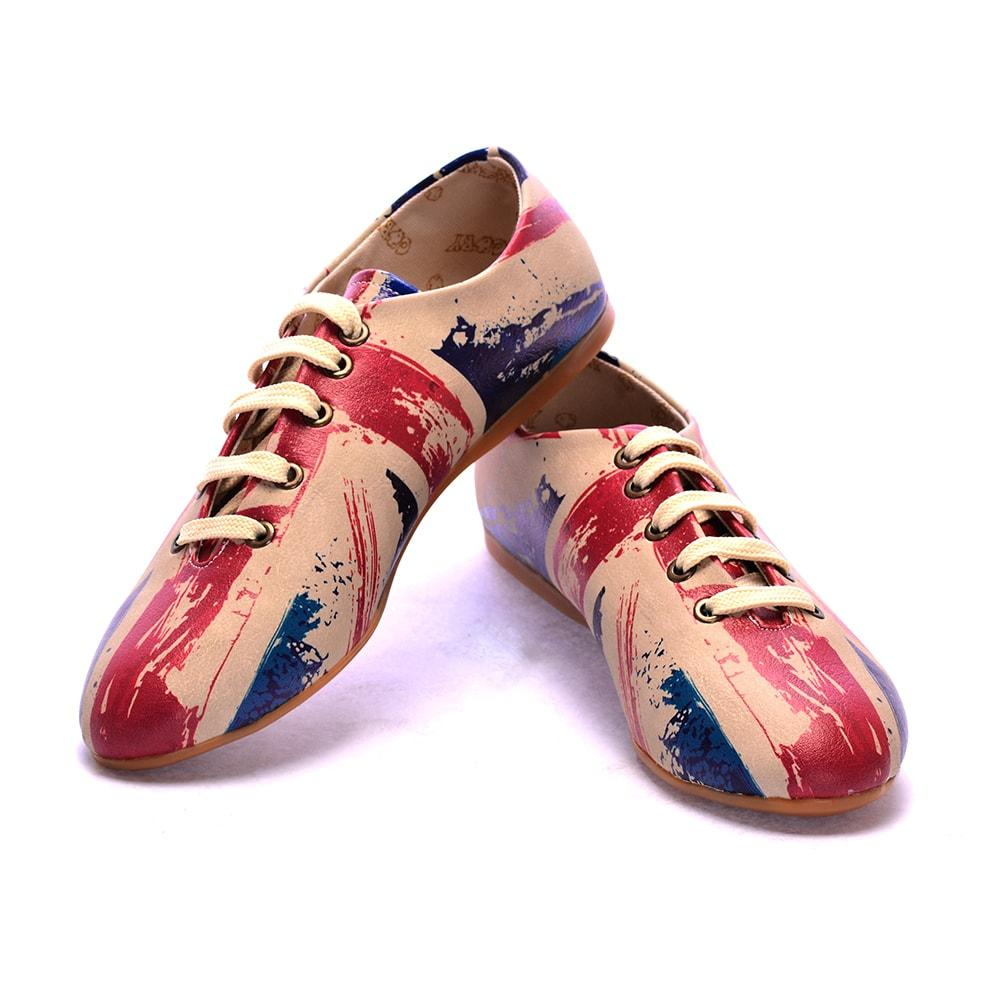 Flag Ballerinas Shoes SLV047 - Goby GOBY Ballerinas Shoes