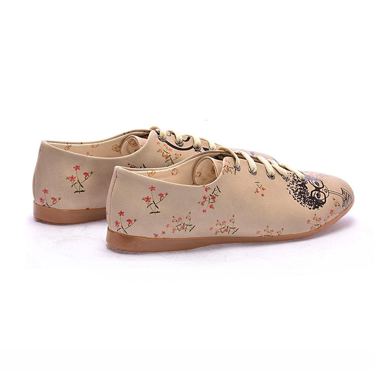 Curly Girl Ballerinas Shoes SLV004 (506272743456)